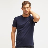 Men's Lacoste Embroidery Short Sleeve Shirt Top Tee