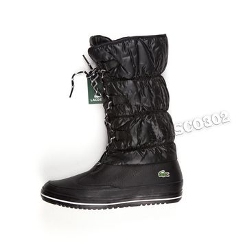 886afbd81b4f0 Lacoste Boots Tuilerie PS Winter Boots Black