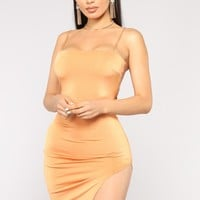 Evelin Dress - Dusty Orange