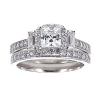 Sterling Silver Bridal Ring Set 2 - JCPenney