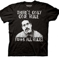 Workaholics There's Only One Rule Black Mens T-Shirt - Workaholics - | TV Store Online