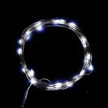 DUMVOIN(TM) 10ft/3m 30 LEDs Fairy LED Wire String Lights/Starry Starry Lights with Timer Battery Box,Indoor and Outdoor String Lights Battery Operated for Festival, Christmas, Wedding, Holiday and Party Stage/Garden - Pink[NEWEST VERSION]