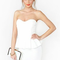 Daisy Peplum Dress