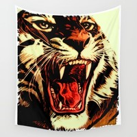 King Of Bengal Wall Tapestry by Inspired Images