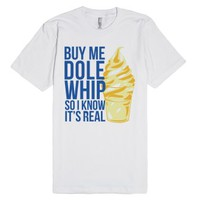 Dole (Light)-Unisex White T-Shirt