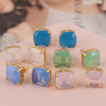 Accessory Resin Crystal Earring Fashion Jewelry [6573075143]