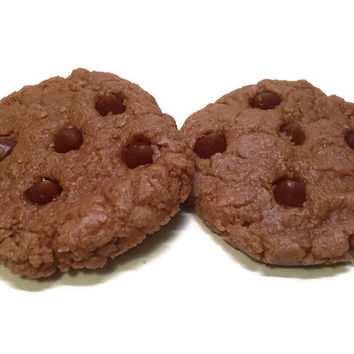 2 Chocolate Chip Cookie Scented Wax Melts 2 Chocolate Chip Cookie Candle Tarts 2 Choclate Chip Cookie Shaped Wax Melts