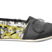 Custom Despicable Me Minions - Gray Toms