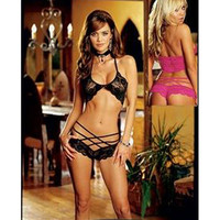 Sexy Black Lace Bra and Panty Set [TML0052] - $15.00 : Zentai, Sexy Lingerie, Zentai Suit, Chemise