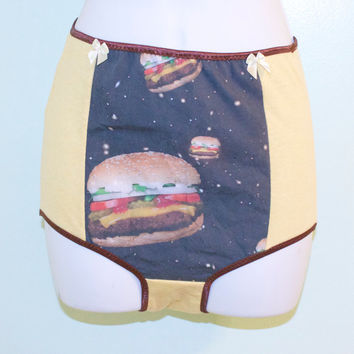 high waist cosmic hamburger underwear