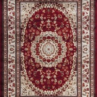 4058 Red Oriental Area Rugs