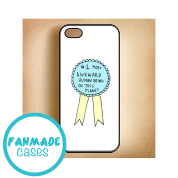 Most Awkward Ribbon iPhone 4/4s 5/5s/5c & iPod 4/5 Rubber Case
