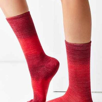 Out From Under Ombre Crew Sock - Urban Outfitters