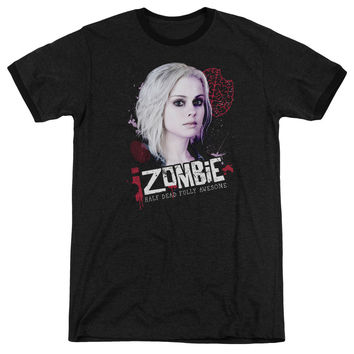 iZombie Take A Bite Black Ringer T-Shirt