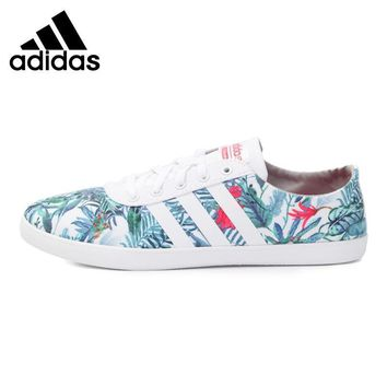 Original New Arrival 2017 Adidas NEO Label CF QT VULC W Women's Skateboarding Shoes Sn