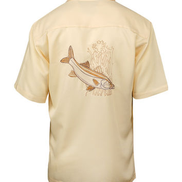 Men's Snook Embroidered Fishing Shirt