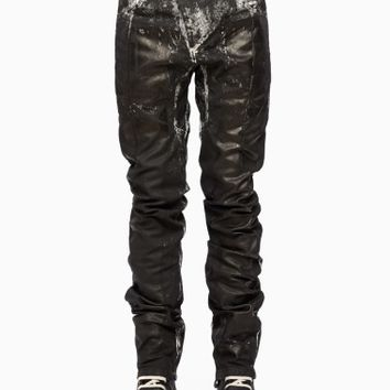 Dirty snow pants from the F/W2015-16 Boris Bidjan Saberi 11 collection in black