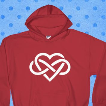 Love is Infinite - Hooded Sweatshirt$29.95