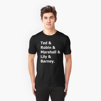 'How I met Your Mother' T-Shirt by barrelroll1