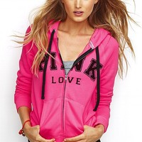 Perfect Zip Hoodie - Victoria's Secret PINK® - Victoria's Secret