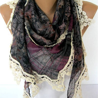 NEW--Elegant scarf - Fashion scarf - scarves -Triangular Shawl-Christmas gift