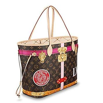 Louis Vuitton Limited Edition Trunk Neverfull