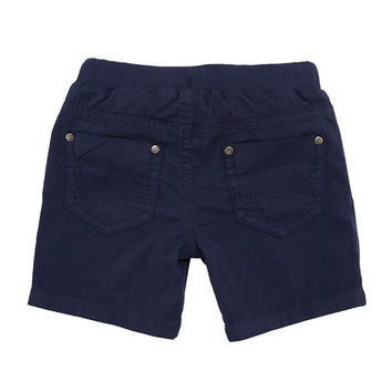 Mayoral Twill-Stretch Drawstring Shorts, Size 6-36 Months