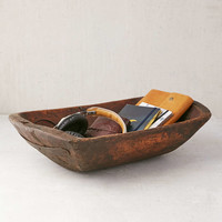 Vintage Wooden Catch-All Dish - Urban Outfitters