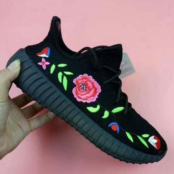 PEAP ADIDAS YEEZY 350 V2 ROSE Sport Casual Shoes Sneakers black H-CSXYQGCZDL-CY
