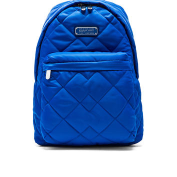 Marc by Marc Jacobs Crosby Quilt Denim Backpack in Pacific Ocean