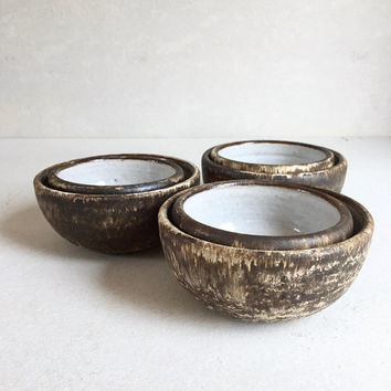 MEDIUM BOWL Rustic Brown ceramic, pottery, handmade, cereal bowl, icecream bowl, general bowl, ceramicbowl, potterybowl, lunch bowl bowls