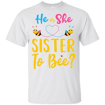 Gender Reveal Pink Or Blue What Will It Bee He Or She Sister Youth