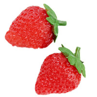 ROMWE | Strawberry Shaped Red Earrings, The Latest Street Fashion