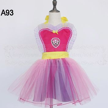 Girls Princess dress up tutu apron for kids and womens costume apron holiday party cosplay