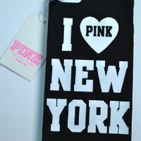 Victoria's Secret Iphone 5 Case I Pink New York Rare