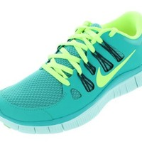 Nike Lady Free 5.0+ Running Shoes - 7.5 - Blue