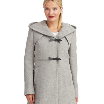 Jessica Simpson Asymmetrical Toggle Coat