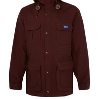 Penfield Burgundy Kasson Mountain Parka Jacket | Jackets by Penfield | Liberty.co.uk
