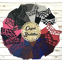 Caged Bralette: Multiple Colors