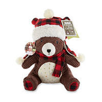 Baby Aspen Boys Pierre the Bear Plush and Hat Gift Set