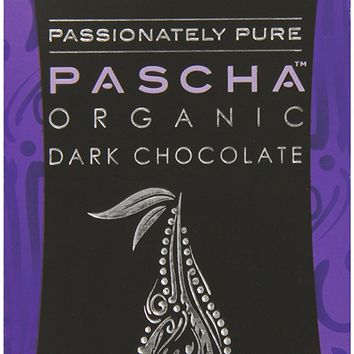 Pascha Organic Dark Chocolate, 85% Cacao, 3.5 Ounce