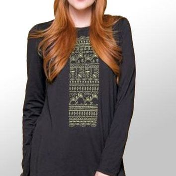 Drawn To Nature Tunic - organic cotton