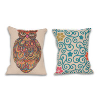 Craft Owl 14x18-inch Reversible Pillow