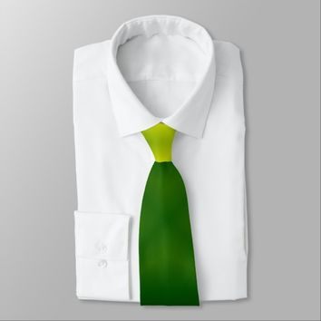 Green Boxes Neck Tie