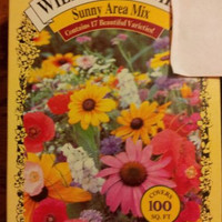 Wildflower mix Sunny Area Mix Contains at least 4500 seeds
