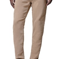 Bullhead Denim Co. Dillon Skinny Fleece Pants - Mens Jeans - Tan
