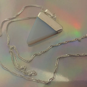 stone necklace in your choice of stone! Opalite amethyst onyx