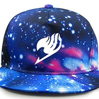 Relaxcos Fairy Tail Logo colorful Sun Hat Baseball Cap Cosplay Costume