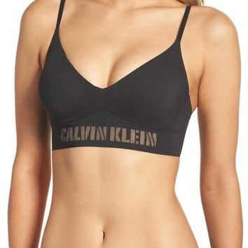 Calvin Klein Laser Wireless Triangle Bra | Nordstrom
