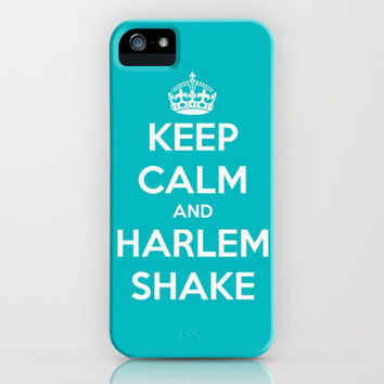 Keep Calm & Harlem Shake. iPhone Case by Abigail Ann | Society6